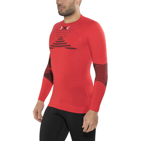 X-Bionic Running Effektor Power OW Langarmshirt Herren flash red/black